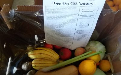 HappyDay CSA Newsletter Jan 14th